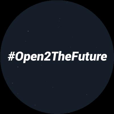 #Open2TheFuture